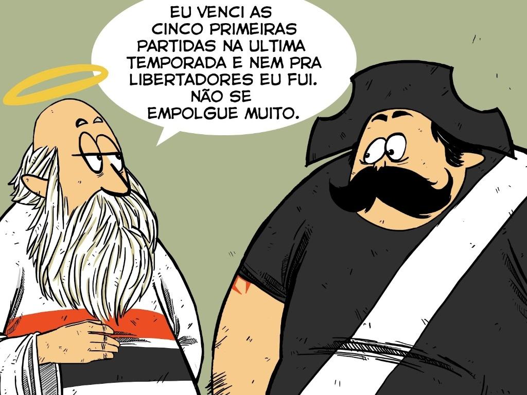 São-paulinos têm uma aviso para o Vasco da Gama