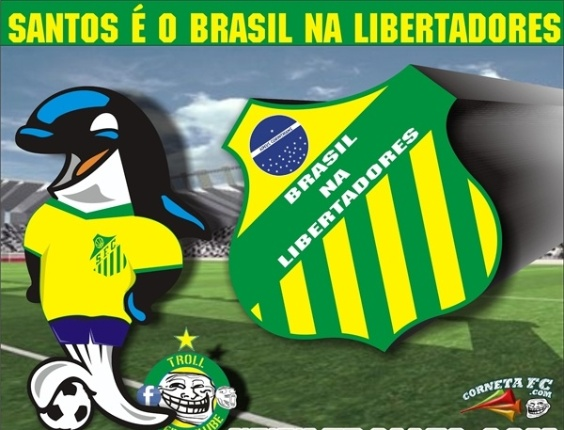 Corneta FC: Hoje o Santos é o Brasil na Libertadores