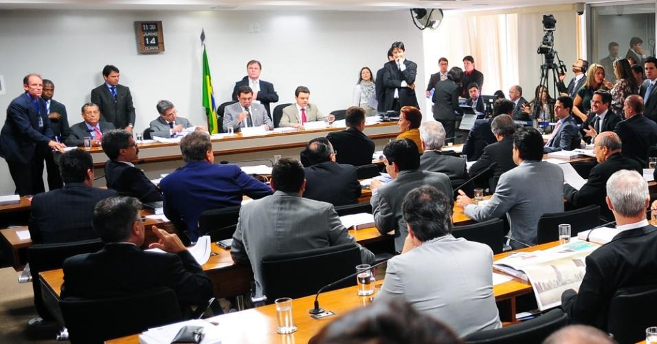 14.jun.2012 - Sessão da CPI do Cachoeira, em Brasília