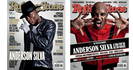 Anderson Silva na capa da revista Rolling Stone