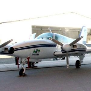 Avião será usado em ações de segurança e saúde