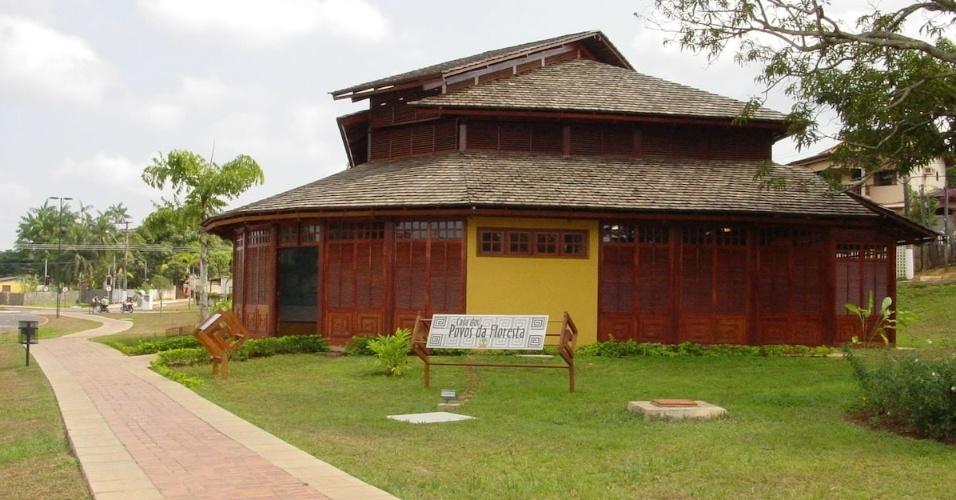 Casa Povos da Floresta, em Rio Branco (AC)