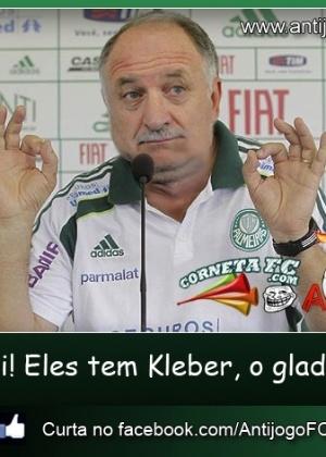 Corneta FC: Felipão lembra bordão da internet para cornetar gremistas