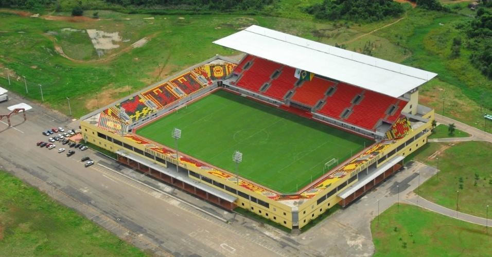 Estádio Arena da Floresta, em Rio Branco (AC)