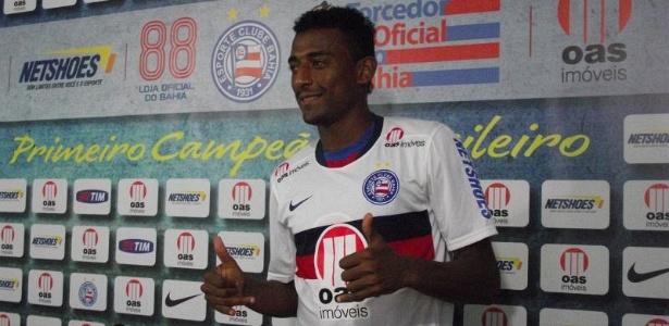 O atacante Elias, atualmente no Resende, defendeu o Bahia na última temporada