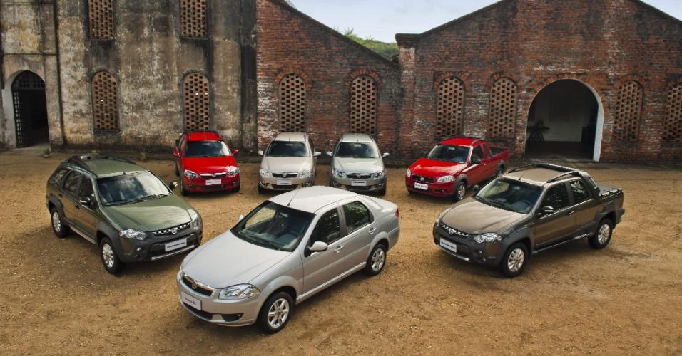 Fiat apresenta nesta quinta-feira (14) a linha 2013 de Palio Weekend, Siena EL e Strada -- a picape também ganha reforço de uma nova versão