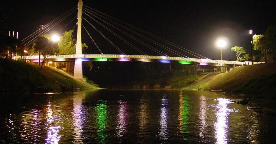 Ponte da Integração Brasil-Bolívia, em Brasileia (AC)