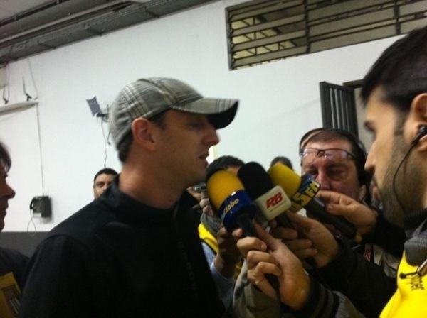 Rogério Ceni compareceu ao Morumbi para apoiar o time do São Paulo contra o Coritiba
