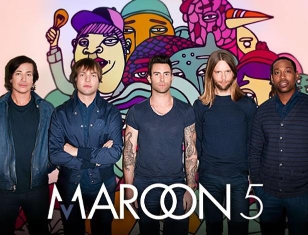 Maroon 5 se apresentou pela última vez no Brasil no Rock in Rio 2011