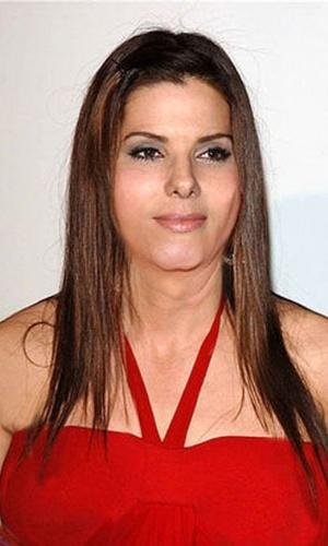 Engordar - Para brincar com a imagem das celebridades, alguns sites tratam de mostrar como elas seriam caso ganhasse um peso extra. Na Imagem, a atriz Sandra Bullock