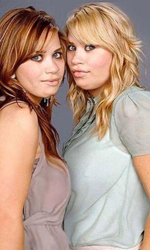 Engordar - Para brincar com a imagem das celebridades, alguns sites tratam de mostrar como elas seriam caso ganhasse um peso extra.Na imagem, as gêmeas Ashley e Mary-Kate Olsen