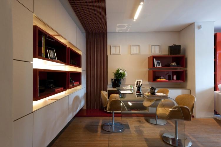 Home Office Desenhado Pela Designer De Interiores J Ia Bergamo D