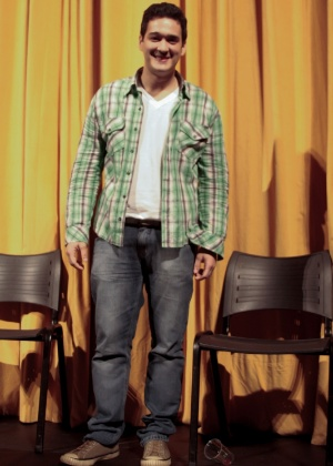 """O ator Marcos Veras interpreta os personagens mais soturnos. """"Interpreto um metido a galá e um sinistro"""", diz"""