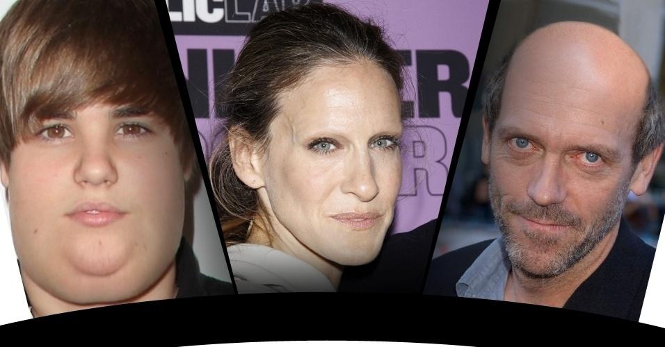 O mundo das celebridades é o da ''ditadura da beleza'' com rostos e corpos ''perfeitos'' -- quase sempre retocados em editores de imagem. Mas também há quem faça o ''Photoshop do mal'': veja a seguir algumas formas selecionadas pelo site ''Buzz Feed'' para alterar imagens e deixar pessoas famosas irreconhecíveis. Angelina Jolie que se cuide...
