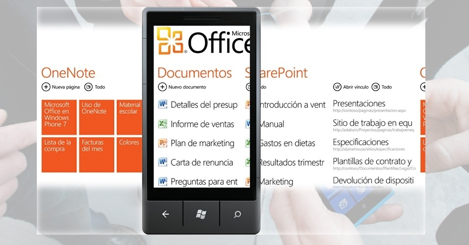 Prints com o smartphone Windows Phone
