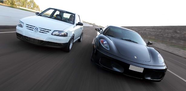 Dois competidores, um propósito: ser o mais rápido no quarto de milha