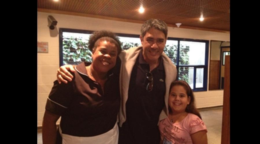 "William Bonner visitou os bastidores da novela ""Avenida Brasil"" (15/6/12)"
