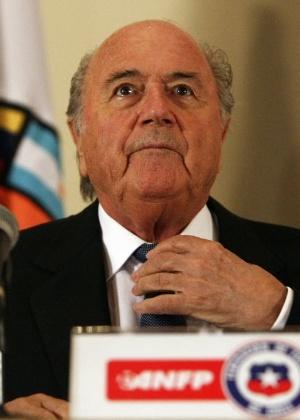 Fifa, presidida por Joseph Blatter, tentou se defender de escândalo