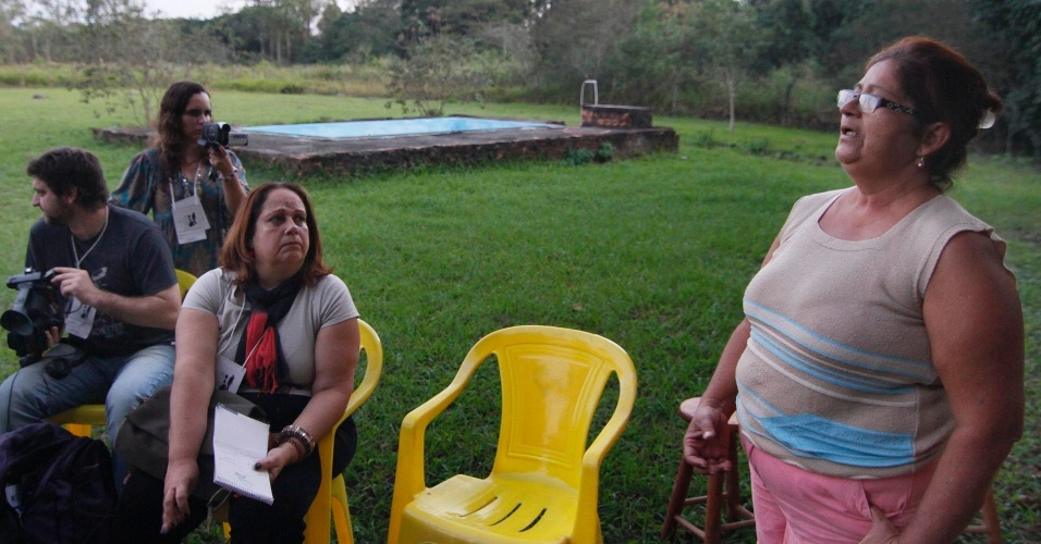 16.jun.2012 - Rio + Tóxico leva jornalistas, pesquisadores e ambientalistas a áreas de conflitos ambientais