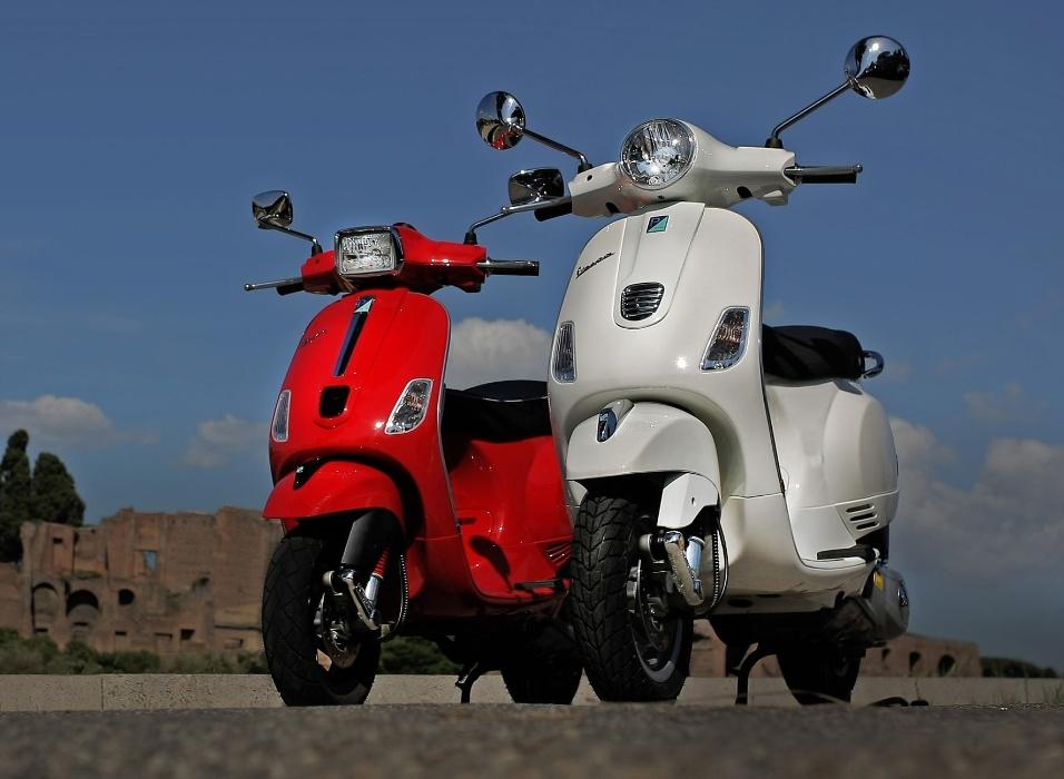 As novas versões do scooter clássico já estão disponíveis para a venda no mercado italiano