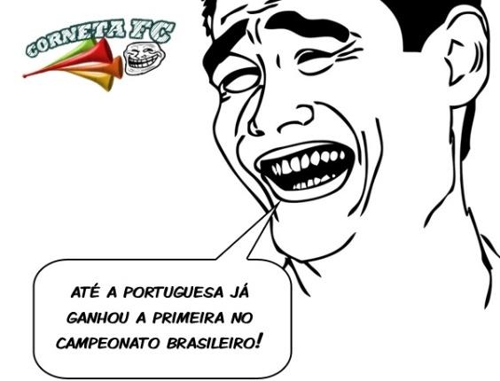 Corneta FC: Até a Lusa já ganhou a 1ª no Campeonato Brasileiro