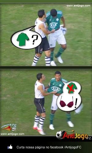 Corneta FC: Desvendado o mistério sobre a camisa do Márcio Araújo