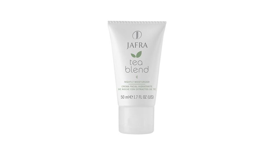 Creme Facial Hidratante Noturno com Extratos de Chá Tea Blend, Jafra