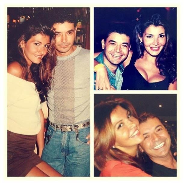 David Brasil divulga fotos antigas ao lado de Roberta Close (18/6/2012)