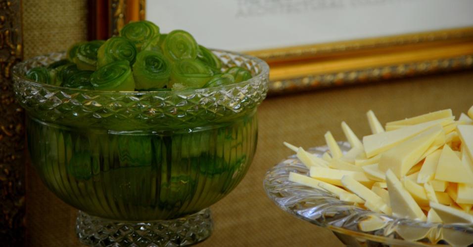 Doce de cidra com queijo meia cura do buffet Arroz de Festa (www.arrozdefesta.com.br)