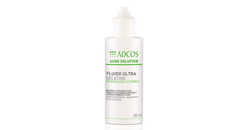 Fluido Ultra Secativo Acne Solution, Adcos
