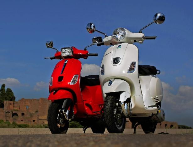 Grupo italiano Piaggio apresentou novo motor e duas novas versões para a clássica Vespa