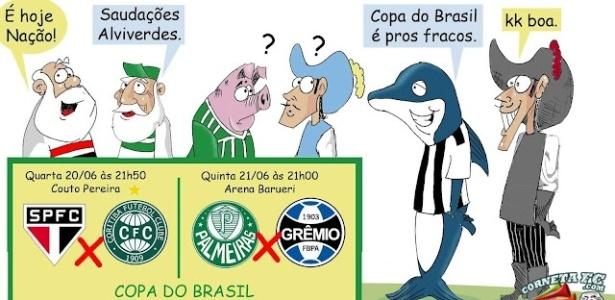 Corneta FC: Copa do Brasil é para os fracos