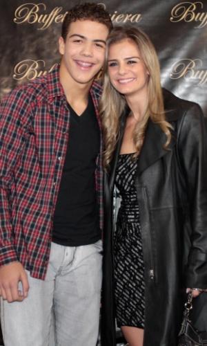Milene Domingues e seu filho Ronald, fruto do seu casamento com Ronaldo (19/6/12)