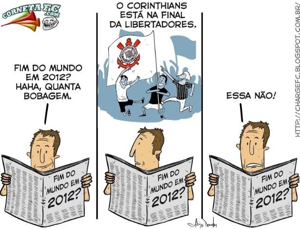 Corneta FC: Corinthians comprova: o fim está próximo