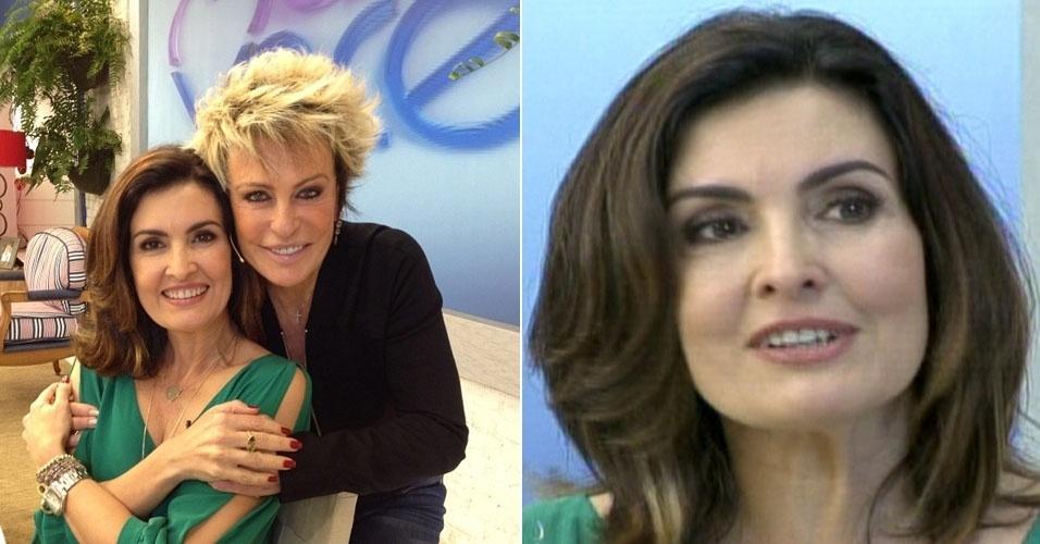 Fátima Bernardes e Ana Maria Braga afirmam que são amigas e que não disputa de espaço na Globo (21/6/12)