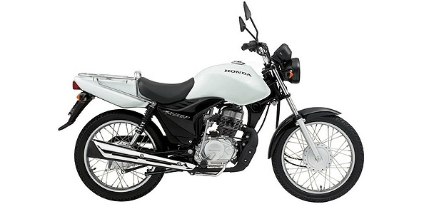 Honda CG: moto de 125 cc &#233; &#237;cone da robustez, mas nem por isso &#233; um projeto simples
