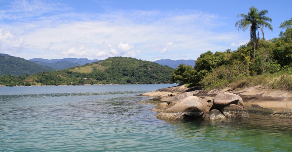 Ilha particular em Paraty, litoral do Rio de Janeiro