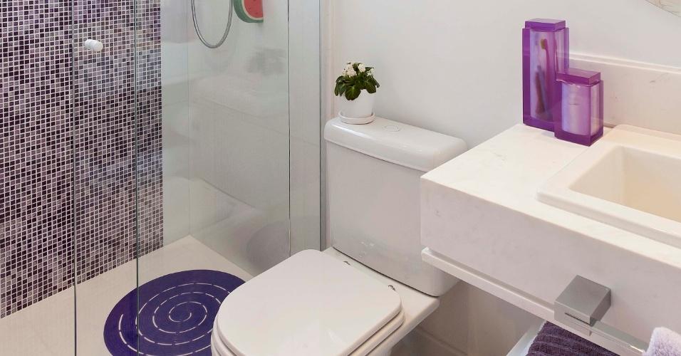 Quartos on Pinterest -> Banheiros Decorados Lilas