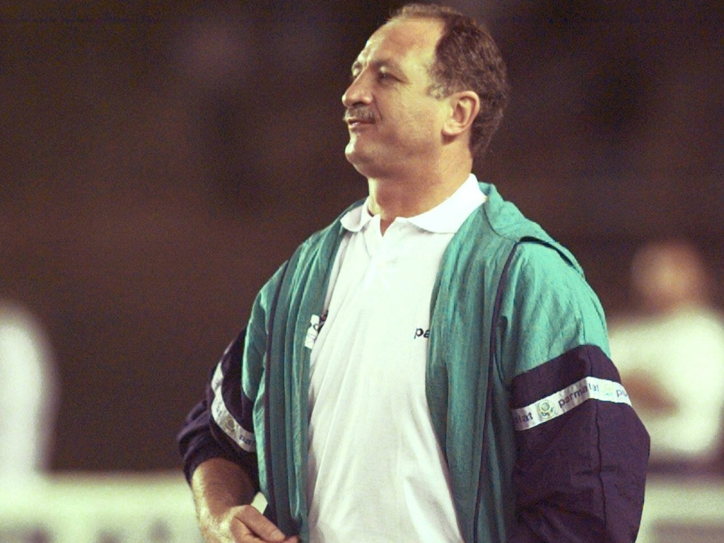 Luiz Felipe Scolari comanda Palmeiras em 1997
