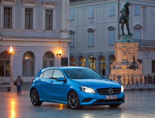 Novo Classe A sinaliza chegada à Europa, onde terá preço inicial de R$ 62.100