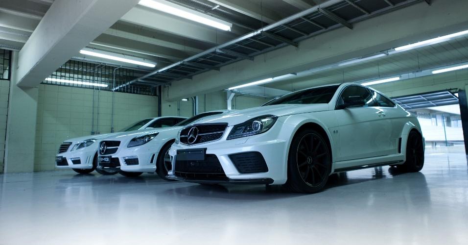 A Mercedes-Benz organizou em 26/6/2012 um encontro no autódromo de Interlagos para comemorar os 45 anos da AMG, divisão esportiva que hoje é parte do grupo Mercedes e desenvolve produtos autonomamente; em 2011, 20 mil carros com essa grife foram emplacados no mundo
