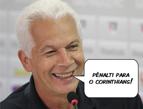Corneta FC: Leão caiu? Pênalti para o Corinthians!