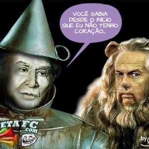 Corneta FC: Leão e o cartola sem coração