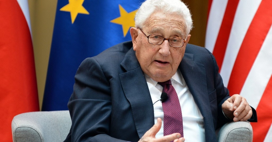 27.jun.2012 - Henry Kissinger, ex-secret&#225;rio de Estado dos EUA