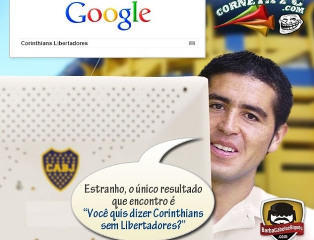 Corneta FC: Riquelme o internauta