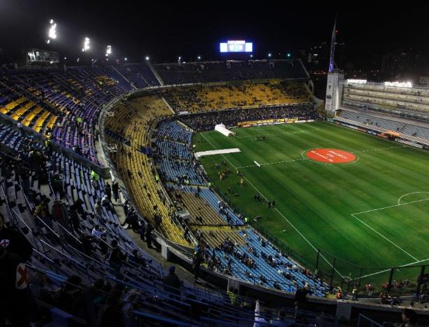 Tradicional estádio de La Bombonera será palco da partida entre Brasil e Argentina