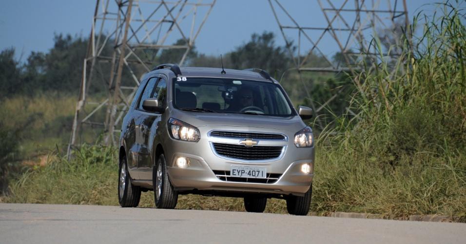 A Chevrolet Spin finalmente estreia no Brasil; até o fim de 2012, saem de linha Meriva e Zafira