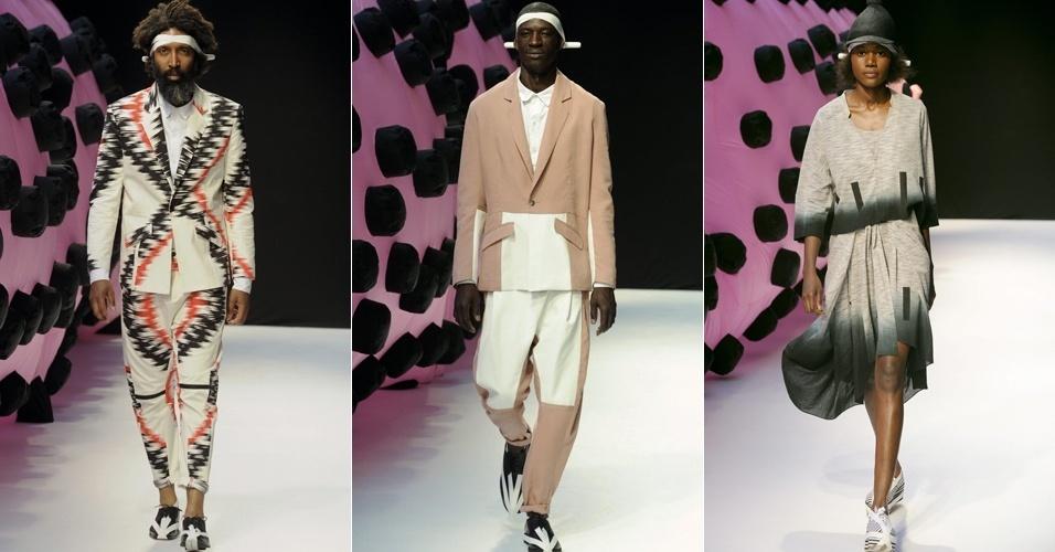 Looks de Henrik Vibskov para o Verão 2013 na semana de moda masculina de Paris (28/06/2012)