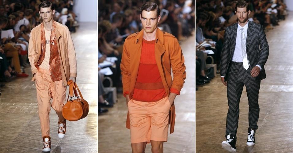 Looks de Viktor & Rolf Monsieur para o Verão 2013 na semana de moda masculina de Paris (28/06/2012)