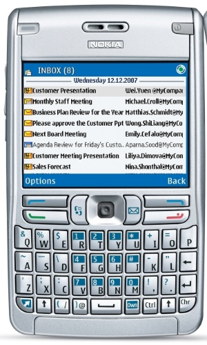 Nokia E62